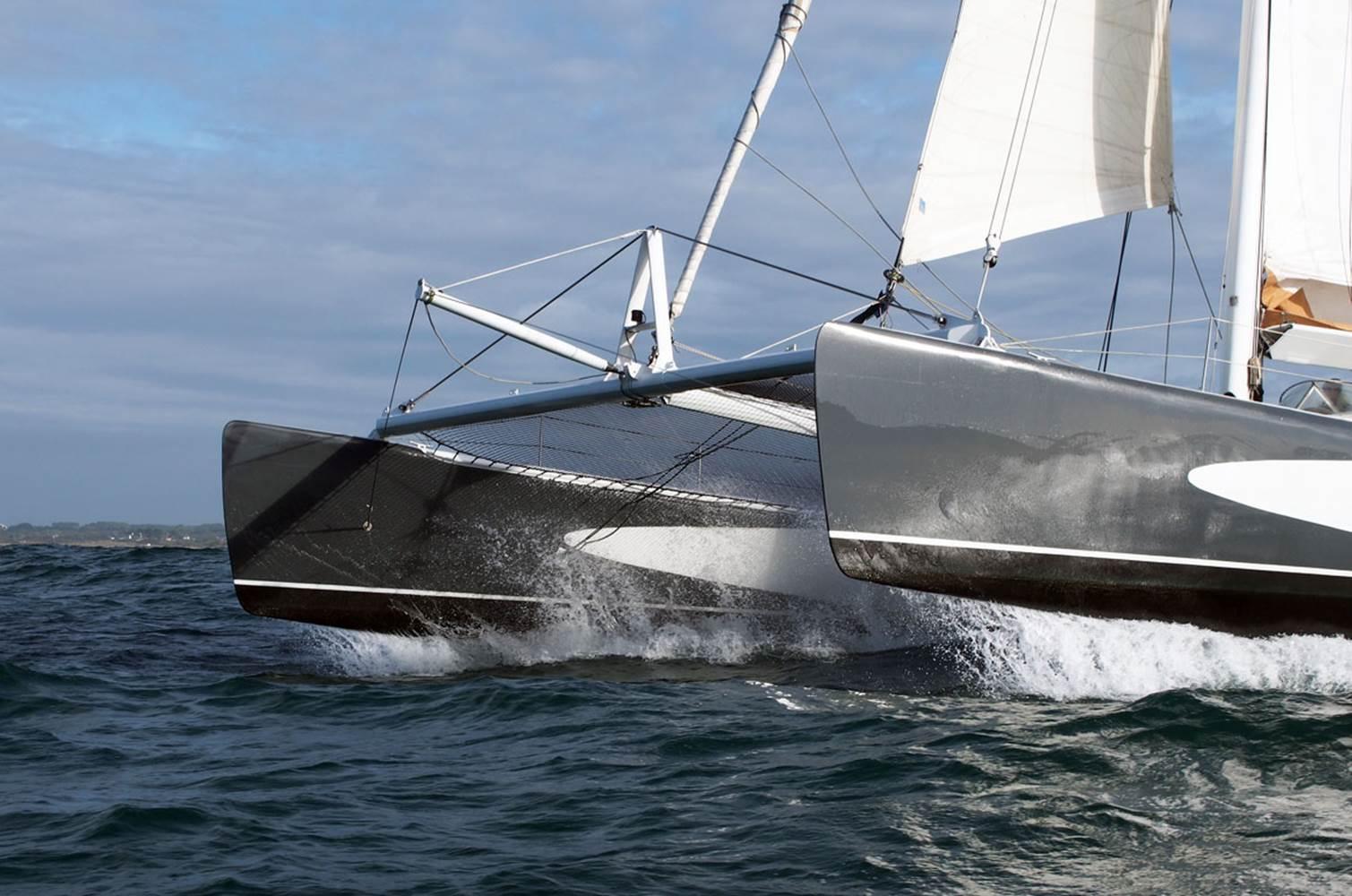 Maxi catamaran de course Explorer © CHALLENGE OCEAN