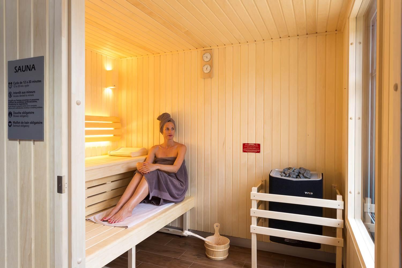 Sauna - Hotel restaurant spa du Tumulus ©