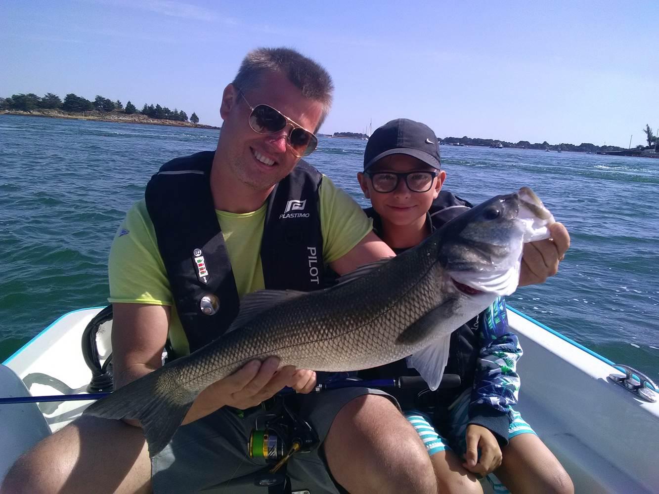 Horizons Pêche-Pêche en mer-Pêche en famille ©