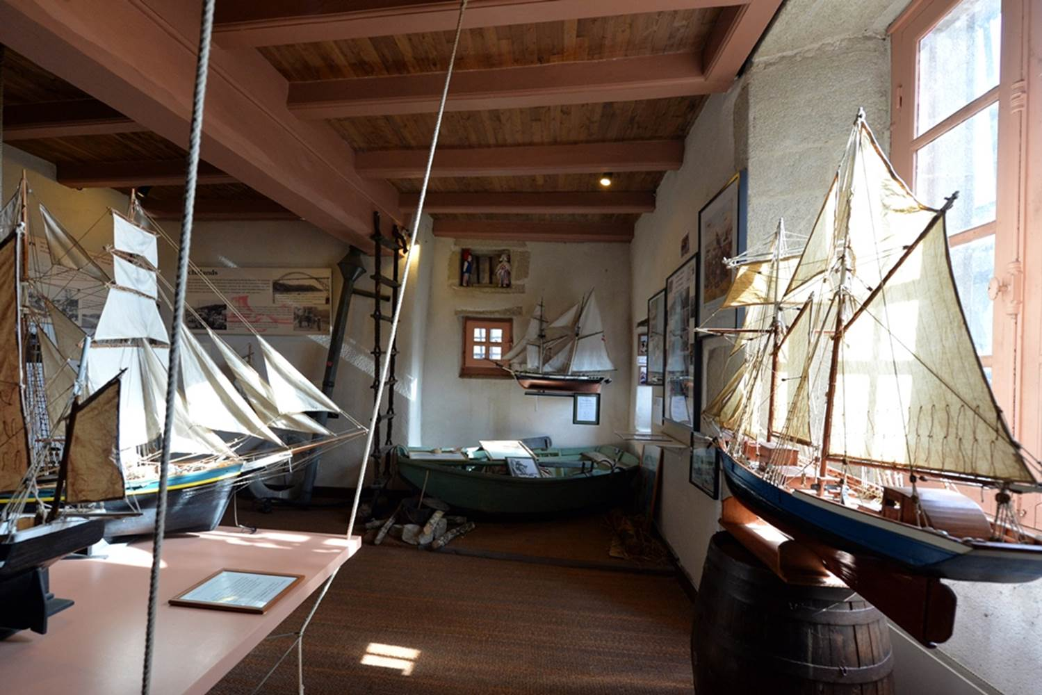 Musée de la Vilaine Maritime La Roche Bernard Morbihan Bretagne Sud © ©M.Renac-Morbihan.com.