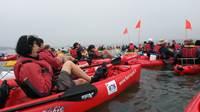 L'île Ilur en Feet-Kayak