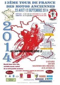 Le Tour de France des Motos anciennes à Arzal