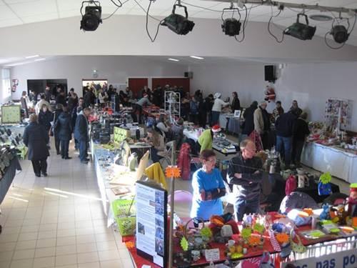 Marché de Noël à Péaule