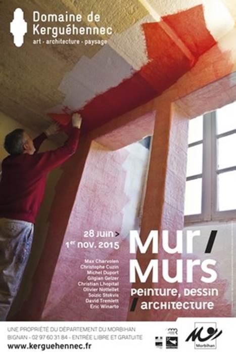 Mur/Murs. Peinture, dessin / architecture