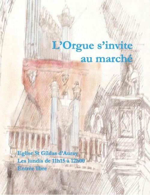 L'Orgue s'invite au marché