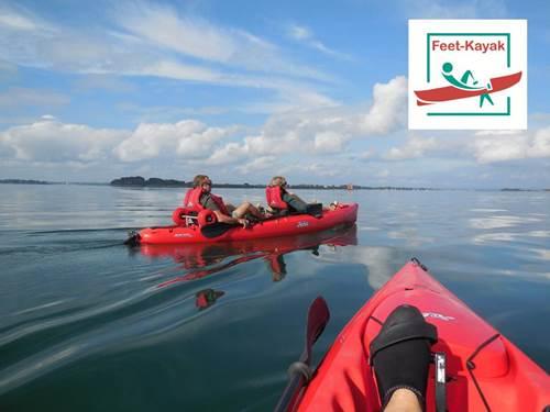Feet Kayak