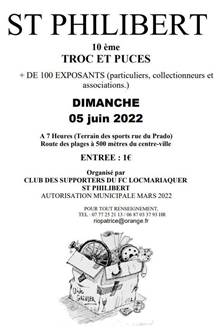 Troc et Puces du club de football (Locmariaquer)