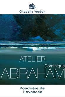 Accueil à l'atelier de Dominique ABRAHAM à Belle-Ile