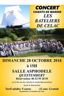 Concert de chants de marins à l'Asphodèle