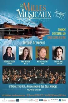 Concert Les Milles Musicaux : Trésors de Mozart