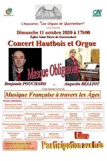 Musique française à travers les âges : hautbois et orgue