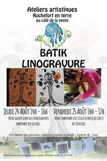 Ateliers artistique à Rochefort-en-Terre