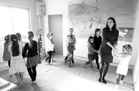 Stage de chants et danses enfants - staj kanañ ha dañs