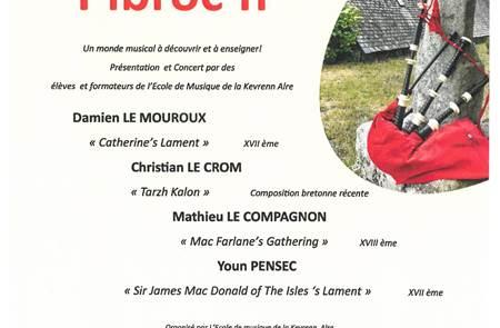 Concert musique ancienne de cornemuse d'Ecosse