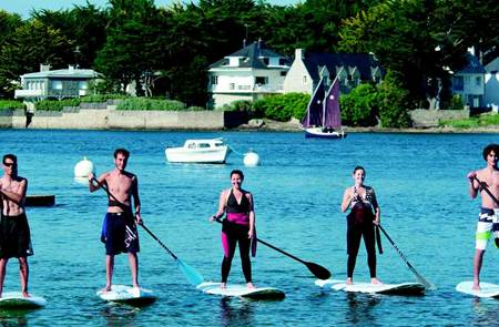 Stand Up Paddle en Morbihan