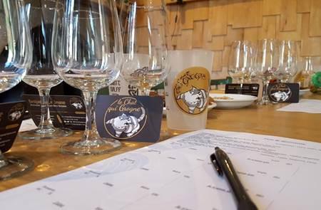Atelier dégustation de bières bretonnes au Petit Café dans la Prairie
