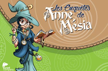 Les enquêtes d'Anne Mésia à Locminé