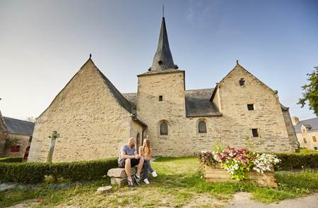 Eglise et village de Lantiern
